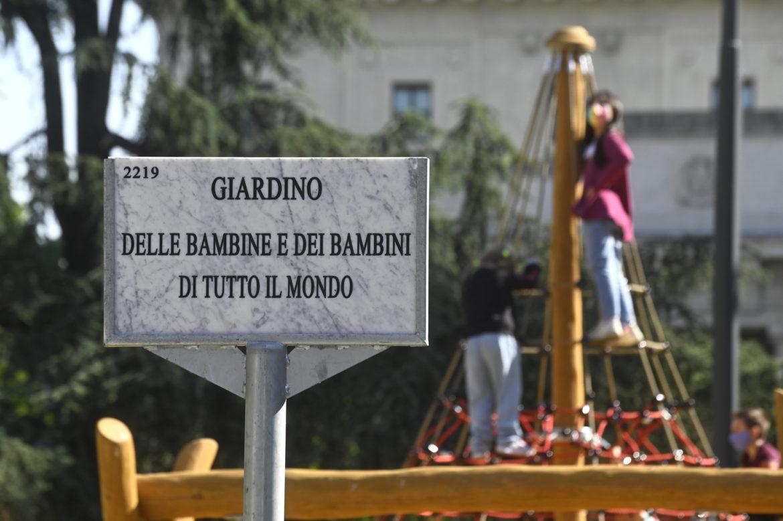 Giardino delle bambine e dei bambini di tutto il mondo